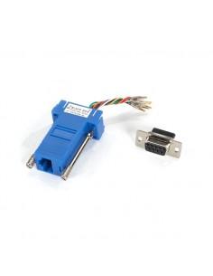 Black Box FA4509F-BL kaapeli liitäntä / adapteri RJ-45 DB9 Sininen Black Box FA4509F-BL - 1