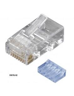Black Box FMTP6-R2-10PAK liitinjohto RJ-45 Läpinäkyvä Black Box FMTP6-R2-10PAK - 1