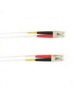 Black Box FOLZH50-001M-LCLC-WH valokuitukaapeli 1 m LSZH OM2 LC Valkoinen Black Box FOLZH50-001M-LCLC-WH - 1