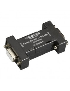 Black Box IC1625A-F sarjamuunnin/-toistin/-eristin RS-232 RS-485 Musta Black Box IC1625A-F - 1