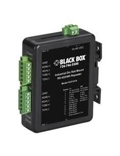 Black Box ICD107A sarjamuunnin/-toistin/-eristin RS-422/485 Musta Black Box ICD107A - 1