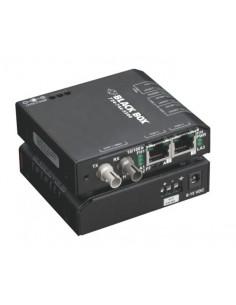Black Box LBH100A-H-ST-12 verkon mediamuunnin 100 Mbit/s Monitila Musta Black Box LBH100A-H-ST-12 - 1