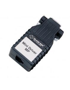 Black Box ME775A-FSP DB9 F Jakorasia Musta kaapeli liitäntä / adapteri Black Box ME775A-FSP - 1