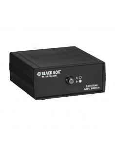 Black Box SW1031A verkkolaajennin Verkkolähetin ja -vastaanotin Musta Black Box SW1031A - 1