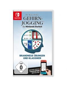 Nintendo Dr. Kawashimas Gehirn-Jogging videopeli Switch Perus Saksa, Englanti, Espanja, Ranska, Italia, Japani Nintendo 10002018