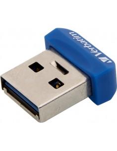 Verbatim Store 'n' Stay Nano USB-muisti 16 GB USB A-tyyppi 2.0 Sininen Verbatim 98709 - 1