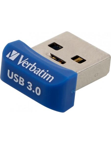 Verbatim Store 'n' Stay Nano USB-muisti 32 GB USB A-tyyppi 3.2 Gen 1 (3.1 1) Sininen Verbatim 98710 - 2