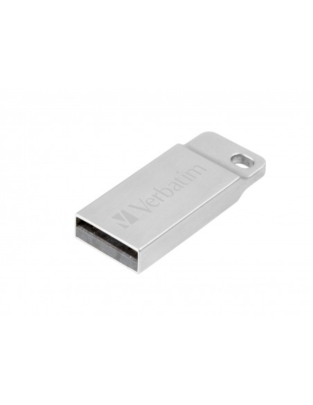 Verbatim Metal Executive USB-muisti 32 GB USB A-tyyppi 2.0 Hopea Verbatim 98749 - 1