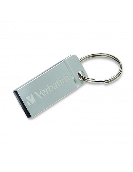 Verbatim Metal Executive USB-muisti 64 GB USB A-tyyppi 2.0 Hopea Verbatim 98750 - 4