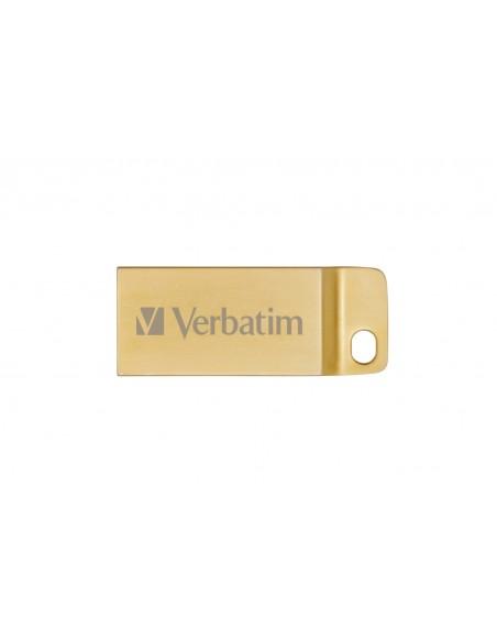Verbatim Metal Executive USB-muisti 16 GB USB A-tyyppi 3.2 Gen 1 (3.1 1) Kulta Verbatim 99104 - 3