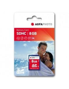 AgfaPhoto 8GB SDHC Memory card flash-muisti Agfaphoto 10407 - 1