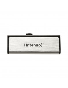 Intenso Mobile Line USB-muisti 8 GB USB A-tyyppi 2.0 Hopea Intenso 3523460 - 1