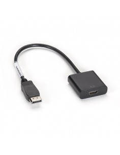 Black Box EVNDPHDMI-MF-R3 videokaapeli-adapteri 0.3 m DisplayPort HDMI Musta Black Box EVNDPHDMI-MF-R3 - 1