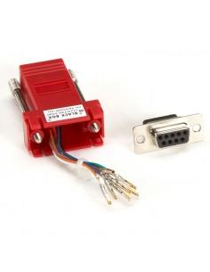 Black Box FA4509F-RD kaapeli liitäntä / adapteri RJ-45 DB9 Punainen Black Box FA4509F-RD - 1