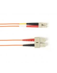 Black Box FOLZH50-003M-SCLC-OR valokuitukaapeli 3 m OM2 SC LC Orange,Multicolour Black Box FOLZH50-003M-SCLC-OR - 1