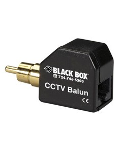 Black Box IC444A-RCA AV-signaalin jatkaja AV-lähetin Musta Black Box IC444A-RCA - 1