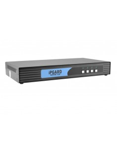 Smart-AVI SDVN-4S KVM-kytkin Musta Black Box SS4P-SH-DVI-U - 1