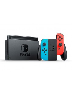 "Nintendo Switch (New revised model) kannettava pelikonsoli Musta, Sininen, Punainen 15.8 cm (6.2"") 32 GB Wi-Fi Nintendo 10002207"