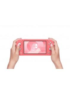 "Nintendo Switch Lite kannettava pelikonsoli Koralli 14 cm (5.5"") Kosketusnäyttö 32 GB Wi-Fi Nintendo 10004131 - 1"
