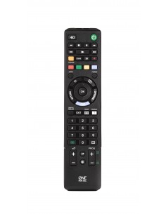 One For All URC 1912 remote control IR Wireless TV Press buttons Oneforall URC1912 - 1