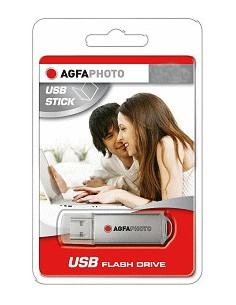 AgfaPhoto 4GB Drive USB-muisti USB A-tyyppi 2.0 Harmaa Agfaphoto 10511 - 1