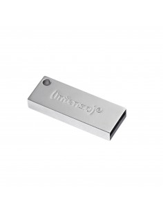 Intenso Premium Line USB-muisti 64 GB USB A-tyyppi 3.2 Gen 1 (3.1 1) Hopea Intenso 3534490 - 1