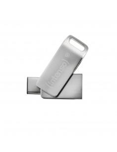 Intenso cMobile Line USB-muisti 64 GB USB Type-A / Type-C 3.2 Gen 1 (3.1 1) Hopea Intenso 3536490 - 1