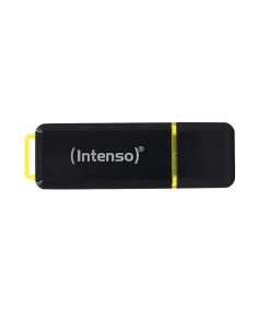 Intenso High Speed Line USB-muisti 128 GB USB A-tyyppi 3.2 Gen 1 (3.1 1) Musta, Keltainen Intenso 3537491 - 1