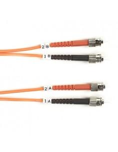 Black Box FO50-LSZH-002M-STST valokuitukaapeli 2 m OM2 ST Oranssi Black Box FO50-LSZH-002M-STST - 1