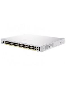 Cisco CBS250-48P-4X-EU nätverksswitchar hanterad L2/L3 Gigabit Ethernet (10/100/1000) Silver Cisco CBS250-48P-4X-EU - 1