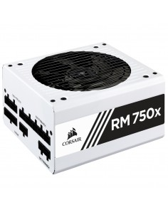 Corsair RM750x virtalähdeyksikkö 750 W 20+4 pin ATX Musta, Valkoinen Corsair CP-9020187-EU - 1