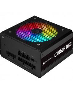 Corsair CX550F RGB virtalähdeyksikkö 550 W 24-pin ATX Musta Corsair CP-9020216-EU - 1