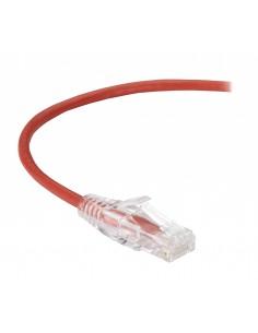 Black Box Cat6 1.5m U/UTP (UTP) Punainen verkkokaapeli Black Box C6PC28-RD-05 - 1
