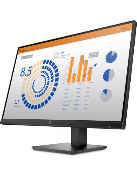 HP P27q G4 QHD Height Adjust Monitor Hp 8MB11AA#ABB - 2