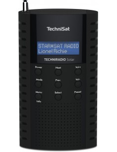 TechniSat Solar Kannettava Analoginen & digitaalinen Musta Technisat 0000/3931 - 1