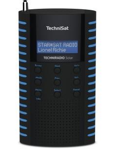 TechniSat Solar Kannettava Analoginen & digitaalinen Musta, Sininen Technisat 0002/3931 - 1
