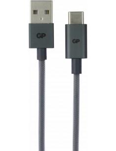 GP Batteries CB17 USB-kaapeli 1 m 2.0 USB A C Musta Gp Batteries 160GPB17C1 - 1