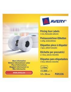 Avery PLR1226 liimaetiketti Valkoinen Hintalappu 15000 kpl Meto PLR1226 - 1