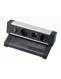 Fujitsu BDL:F6055L720-DE kannettavien tietokoneiden telakka ja porttitoistin Langallinen USB 2.0 Musta Fujitsu Technology Soluti