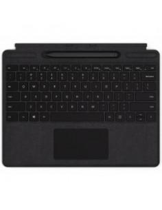 Microsoft Surface QJV-00005 mobiililaitteiden näppäimistö QWERTZ Saksa Musta Cover port Microsoft QJV-00005 - 1