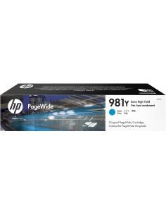 HP 981Y Original Extra (Super) Hight Yield Cyan Hp L0R13A - 1