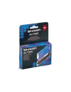 Sharp Inktcartridge AJT20C Cyan Original Sharp AJ-T20C - 1