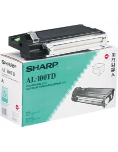 Sharp AL-100TD Tonerkassett 1 styck Original Svart Sharp AL100TD - 1