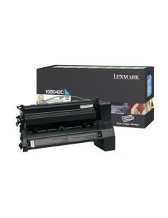 Lexmark 10B042C Tonerkassett 1 styck Original Cyan Lexmark 10B042C - 1