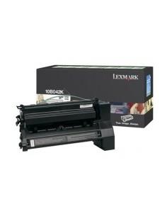 Lexmark 10B042K Tonerkassett 1 styck Original Svart Lexmark 10B042K - 1