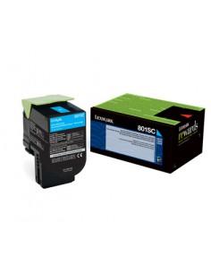 Lexmark 802SC Alkuperäinen Syaani 1 kpl Lexmark 80C2SC0 - 1