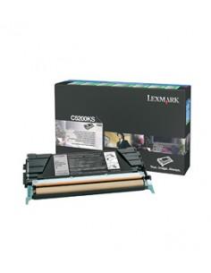 Lexmark C5200KS värikasetti Alkuperäinen Musta 1 kpl Lexmark C5200KS - 1