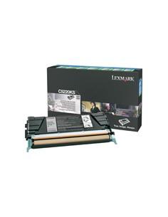 Lexmark C522, C524, C53x Black Return Program Toner Cartridge Alkuperäinen Musta Lexmark C522RKS - 1