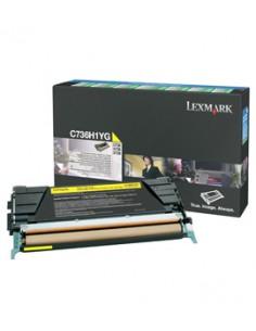 Lexmark C736H1YG värikasetti Alkuperäinen Keltainen 1 kpl Lexmark C736H1YG - 1