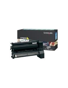 Lexmark Yellow High Yield Return Program Print Cartridge for C770/C772 Alkuperäinen Keltainen Lexmark C7700YH - 1